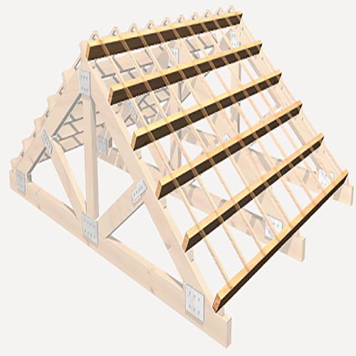 Construcci n de diferentes estructuras de madera tel 938 508 035 - Estructuras de madera para tejados ...